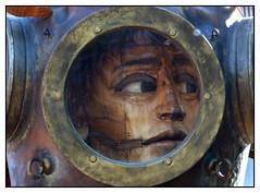 Le scaphandrier -  The diver (diaph76) Tags: extérieur france seinemaritime normandie lehavre manifestations fêtes festivités revelry animations marionnettegéante défilé spectaclederue streetshow