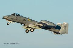 A-10 Thunderbolt II (coreybrickner) Tags: superbowl msp heritageflight usaf usbankstadium nfl nbc nikon avgeek aviation airport spotting military tamron a10 thunderbolt