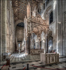 Peterborough Cathedral 2018 - 12 (Darwinsgift) Tags: peterborough cathedral nikkor pc e 19mm f4 tilt shift photomerge interior hdr nikon d850
