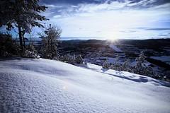 Skui alpine slope (5orenso) Tags: winter sea oslofjorden norway akershus kolsås kolsåstoppen