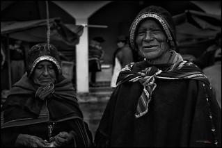 Mercado en Tarabuco, Bolivia