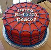 spiderman (backhomebakerytx) Tags: cake birthday kid spiderman super hero spiderweb backhomebakery