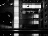 the.lobby (grizzleur) Tags: olymplus omd olympusomdem5mkii omdstreetphotography bw mono monochrome blackandwhite street photography candid pov perspective birdseye lines geometry humanelement humaningeometry stride olylove reflection light dark lowkey