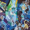 2012_slika_plexi_delfin_in_Kasper_50x50cm_Peter_Ciuha (peter.ciuha) Tags: paintings acrylic glass plexi canvas peter ciuha hanji paper kozo tak illuminated