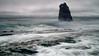 Slow Motion Shoreline (Middle aged Nikonite) Tags: davenport santa cruz california nikon d7000 seascape ocean waves long exposure nature outdoor water rock beach