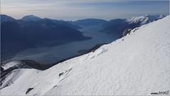 Non si smetterebbe mai di fotografarlo (mame1964) Tags: valtellina lago como sorico gera lario corvegia sasso canale zocca scialpinismo neve alpe gigiai