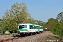 X4601 sur TER Lyon Paray le Monial vers Châtillon d'Azergues (philippedreyer1) Tags: