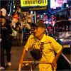 People of Thailand (4) (John Riper) Tags: johnriper street photography straatfotografie square vierkant bangkok thailand candid john riper xt2 fujifilm xf35 f2 man cart cap night people traffic bag bell sign bokeh klvk