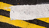 Yellow 1 (S Cansfield) Tags: road markings paint yellow white abstract nikon d300 1870mm miniproject colour color