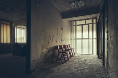 Waiting room only (Camera_Shy.) Tags: derelict hospital abandoned care home italy abandonado decayed medical institute urban exploration disused old europe ue exploring italia road trip urbex abandonment decay rotten light shadow moody vsco nikon d810