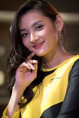 TAS2018 (byzanceblue) Tags: ã¤ã¨ãã¼ dunlop woman girl female model tas2018 tokyoautosalon portrait beautiful d850 nikkor tokyo japanese