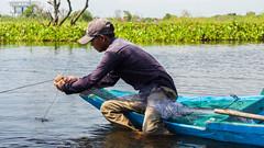 Fisherman on the Tonle Sap