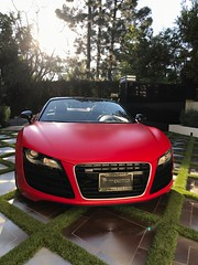 rent a convertible audi R8 exotic car (Exotic & Luxury Cars) Tags: audir8 r8 audi red sportscar exoticcar 777exotics exotic rental car luxury supercar 2900srobertsonblvd