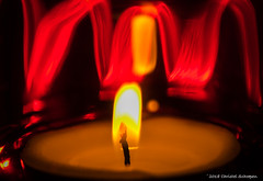 Flame (Christel Schoepen) Tags: macro flame candle longshutterspeed