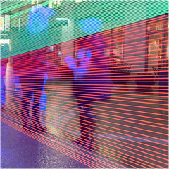 Lined light by Charlotte Teager (Teager Photography) Tags: d750 bromleycameraclub london colour competition pdi canarywharf winterlights nikon