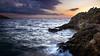 Sunset à Porto Santo Stefano (Gilles Bourdreux Photography) Tags: italie toscane travel tuscany toscany toscana mer sunset sun soleil sky sea seascape landscape lights lumières falaise rocks rochers nikon nuages night