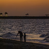 Legacy (|MBS-..|) Tags: nikon d700 200mm sunset silhouette couple father son seascape seaside water ocean golden hour