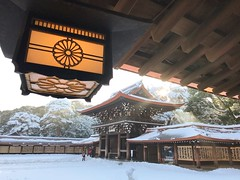Tokyo Snow (kirainet) Tags: meijijingu snow tokyo