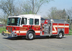 Dayton OH   Engine 17 (kyfireenginephoto) Tags: hme truck montgomery ohio fire jefferson miami engine 2004 kettering oh ahrens dayton fox moraine