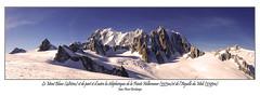 Le Mont Blanc (dibona38) Tags: valléeblanche chamonix skiderandonnée montblanc helbronner aiguilledumidi poudreuse
