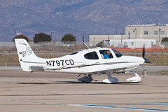 Private (Gilbert Aviation Industries) Cirrus SR-22 N797CD (jbp274) Tags: sdm ksdm brownfield airport airplanes cirrus sr22