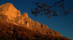 Roda di Vaèl _MG_7331m1(1) (maxo1965) Tags: rodadivaèl dolomites rosengarten catinaccio sunset südtirol landscape autumn enrosadira rotwand