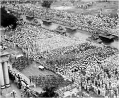 1951 Double Ten Day military parade (getaiwan) Tags: 1951 doubletenday militaryparade 雙十節 慶典 軍人