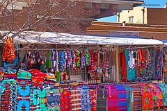 Santa Fe Market Place (Shadow _ Traveler) Tags: newmexico handcrafteditems indainsouvieners souvieners santafenewmexico santafe photography hdrphotography hdr travel travelphotography unitedstatesnewmexico market marketplace placesofinterest shopping giftshops tourism streetphotography