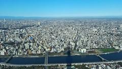 Clear sky over Tokyo (Tatu234) Tags: tokyo japan winter spring january 2018 clear blue sky greatphotographers sony alpha dslr camera amateur photographer photograph photography view city cityscape landscape tourist beautiful