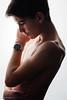 L'Impénétrable Fragilité De L'Être ... (Sam' place) Tags: boy portrait studio teenager