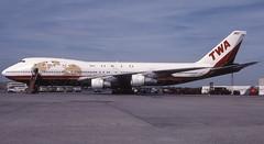 N93108JFKRAMP (MAB757200) Tags: twa transworldairlines b747131 n93108 jetliner jfk kjfk aircraft airplane airlines boeing queenoftheskies