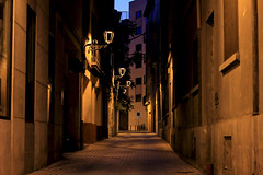 Streets of my life (Daniel Nebreda Lucea) Tags: street calle city ciudad night noche alone solo silence silencio old vieja antigua light luz lights luces shadow sombra shadows sombras urban urbano urbana town pueblo perspective perspectiva long exposure larga exposicion architecture arquitectura nights noches canon 50mm 60d alley callejon callejuela casco antiguo streets calles dark oscuro darkness oscuridad houses casas mistery misterio