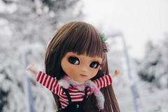 Lana ! (Alluka Zoldyck) Tags: pullip pullips custo custom carol enjoy jun planning junplanning lana neige snow original 2003 vintage cute france japan alluka zoldyck