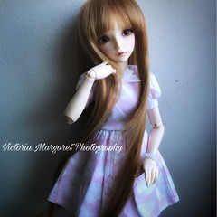 Layla (xvictoriamargaretx) Tags: abjd bjd ball jointed doll dolls balljointeddoll cp fairyland fairylandminifee liria layla msd mnf minifee minifeeliria