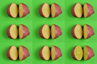 An Orderly Octad of Ordinary potatoes