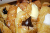 Croissants From Cakes & Pastries. (dccradio) Tags: lumberton nc northcarolina robesoncounty cakespastries cakesandpastries doughnut donut croissant filledcroissant jelly jam frosting creamcheese whitefrosting chocolatefrosting raspberry blueberry glaze glazed treat sweet dessert breakfast food eat snack junkfood nikon d40 dslr