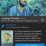 Peeps. Saw Loving Vincent last night. An animation about Vincent van Gogh. I can't imagine anyone who would not enjoy this movie. thumbnail