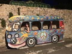 Love (SuperDrive) Tags: vw bus zagreb strossmartre girl streetphotography peace love streetart outdoor croatia t1