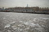 With One World Trade Center and NYC in the background, ice floe in the Hudson River off the Hoboken shoreline. (apardavila) Tags: hoboken hudsonriver manhattan nyc newyorkcity oneworldtradecenter wtc clouds ice icefloe river skyline skyscraper