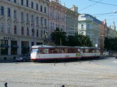 Olomouc trams Nos. 170 and 171 (johnzebedee) Tags: tram transport publictransport vehicle olomouc czechrepublic johnzebedee tatra tatrat3
