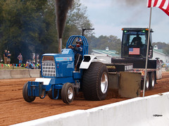 170218_068_TP_Ford (AgentADQ) Tags: tractor fest pull show paquette historical farmall museum leesburg florida 2017 motorsport ford turbo diesel