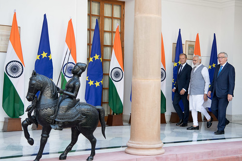 President Tusk at the EU-India Summit In Delhi