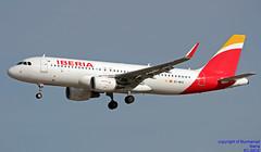 EC-MCS LEMD 15-01-2018 (Burmarrad (Mark) Camenzuli Thank you for the 10.3) Tags: airline iberia aircraft airbus a320214 registration ecmcs cn 6244 lemd 15012018