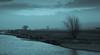 1920p 72dpi2-6180 (R W Gibbens Photo) Tags: lunevalley riverlune lune river lancashire england uk evening blackandwhite monochrome water sky tree cyanotype