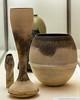 Hans Coper | Spade vase, waisted vase, and large pot (FlickrDelusions) Tags: hanscoper vase swindonmuseumandartgallery ceramics pot swindon wiltshire