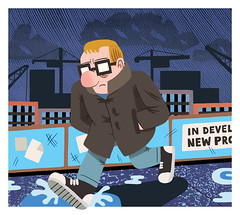 21st Century Blues (Jack Teagle) Tags: digitalart illustrationgloomy dread theblues