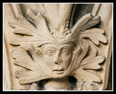 Green Woman (veggiesosage) Tags: southwell southwellminster nottinghamshire aficionados gx20 grade1listed cathedral minster tamronspaf90mmf28