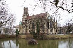 Feuerseekirche in Stuttgart (reipa59) Tags: germany lake fire church kirche feuersee feuerseekirche stuttgart badenwürttemberg see architektur city cityscape stadt stadtlandschaft
