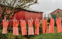 Hung to Dry - this time in colour (Poul_Werner) Tags: bovbjerg danmark denmark jydskedragonregiment mobilephonephoto mobilfoto outing tur udflugt lemvig centraldenmarkregion dk artwork artist