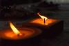 In Memoriam (19/365) - Gracias Juan - (Walimai.photo) Tags: vela candle light luz nikon d7000 35mm 18 homemade casera orange naranja